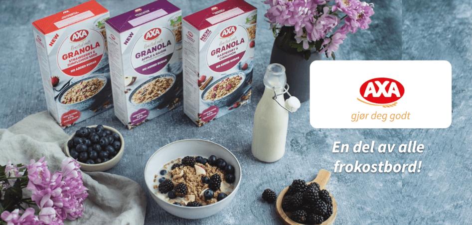 AXA Granola – en del av alles frokostbord